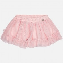 Girls Glitter Tulle skirt - Rose(2905)