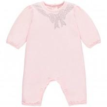 Girls Pink Babygrow Margot (1760)