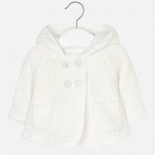 Infant Hooded Knitted Cardigan (2316)