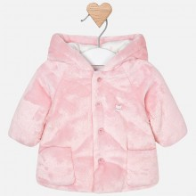 Infant Coat with Hood - Pink  (2400)
