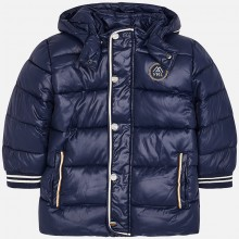 Boys Navy Blue Puffer Coat (4406)