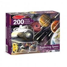 Exploring Space Floor puzzle