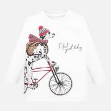 Infant Boys Long Sleeve Top - White (2026)