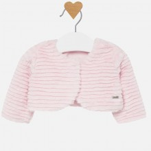 Infant Girls Fur Jacket - Pink (2405)