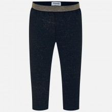 Infant Girls Navy & Gold Leggings (2738)