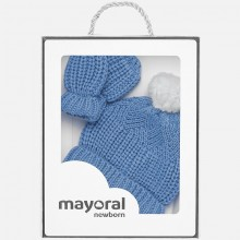 Hat and Glove Set - Blue (9180)