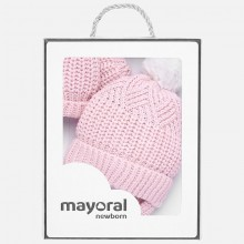 Hat and Glove Set - Pink (9180)