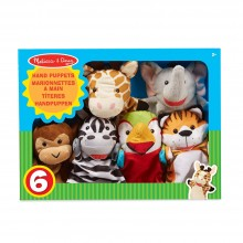 Safari Puppet Set