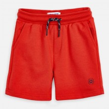 Boys Fleece Shorts (Red) 611