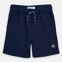 Boys Fleece Shorts (Navy) 611