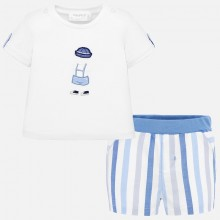 Baby Boy T-Shirt and Shorts Set 1259