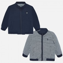 Infant Boys Reversible Windbreaker (Navy) 1461
