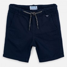 Boys Linen Shorts (Navy) 3248