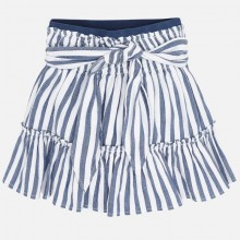 Girls Stripped Skirt 3904