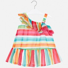 Girls Striped Dress 3954