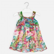 Girls Tropical Dress 3955