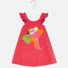 Girls Parrot Dress (Watermelon) 3962