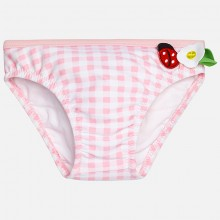 Baby Girl checked ruffled swimsuit (1693)