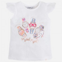 Girls Watch T-Shirt - Flamingo (3083