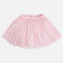 Girl Pink Tulle Skirt (3911)