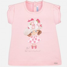 Girls Hat t-shirt - Rose (1012)