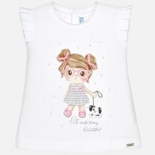 Girl T-Shirt - Rose (1014)