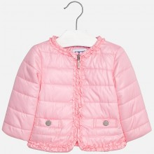 Padded Windbreaker Jacket - Rose (1436)