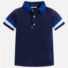 Boys Sport Polo Top - Navy (3142)