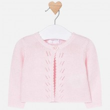 Baby Long Sleeve Cardigan - Pink (325)