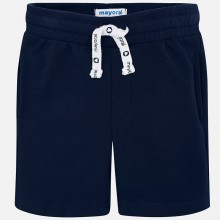 Boys Fleece Shorts - Navy (611)