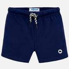 Infant Boys Fleece Short - Navy (621)