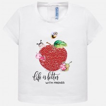 Infant Girls Short Sleeve T-Shirt (1014)