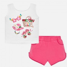 Infant Girls Short Set (1232)