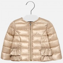 Infant Girls Windbreaker Jacket - Champagne (1423)