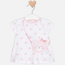 Baby Girls Silkscreen Dress - Light Pink (1813)