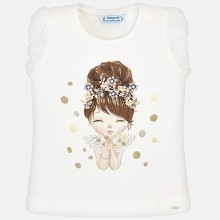 Girls T-Shirt - Gold (3008)