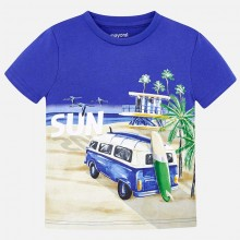 Boys Short Sleeve T-Shirt - Blue (3035)