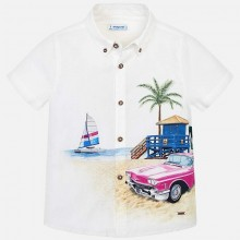 Boys Short Sleeve Shirt (3136)