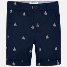 Boys Chino Shorts - Navy (3227)