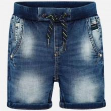 Boys Soft Denim Shorts  (3234)