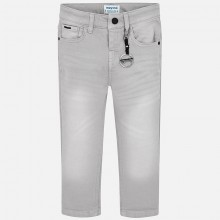 Boys Chino Trousers - Grey (3517)