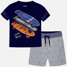 Boys 2 Piece Short Set (3605)