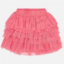 Tulle Ruffle Skirt - Pink (3903)