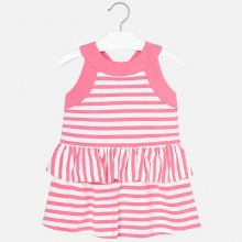 Striped Dress - Pink (3954)