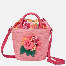 Girls Flower Handbag - Pink (10600)