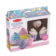 Decoupage made easy - Cupcakes