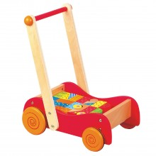 Baby Walker with Coloured Blocks