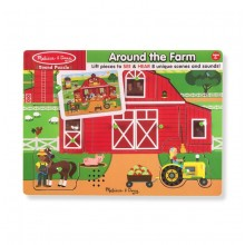 Sound Puzzles Farm Animals