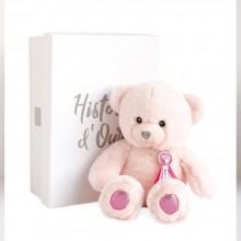 Charm Teddy - Pink 24cm