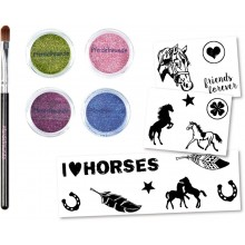 Glitter Tattoos - Horse Friends